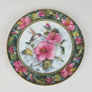 "Franklin Mint ""THE IMPERIAL HUMMINGBIRD"" Plate"